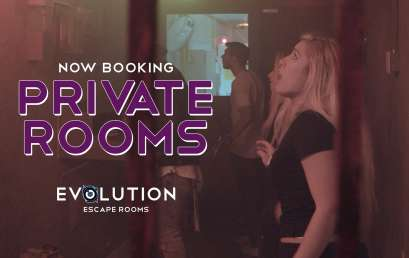 Now Booking Private Rooms