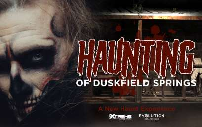 Haunted House Now Open